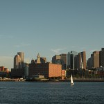 Boston Harbor and the Skyline