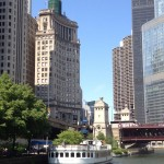 Chicago River and Skyline